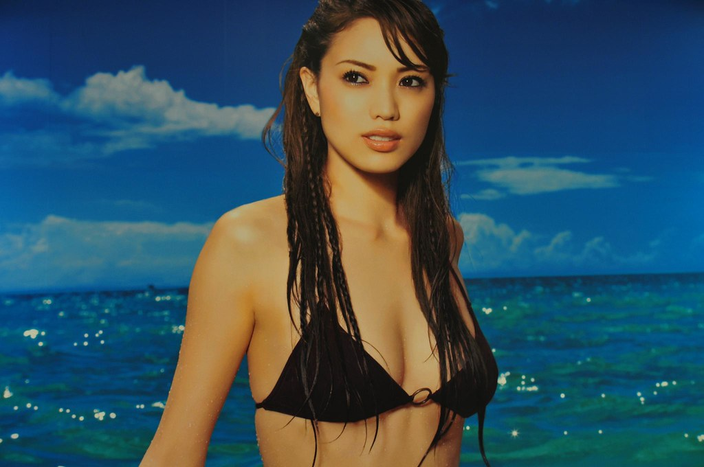 Yuri Ebihara Ebi Chan Advertising Anessa Sun Block Flickr