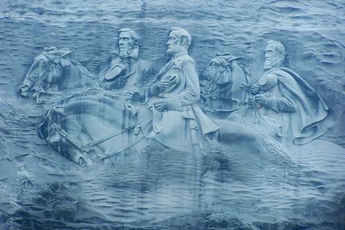 Confederate Memorial Carving, Stone Mountain, Georgia