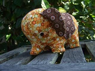 Little Orange Elephant