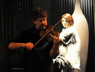 El virtuoso y su musa