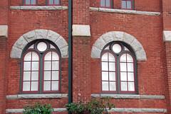 Greensboro Historical Museum Windows