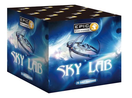 Sky Lab 25 Shot Barrage by Epic Fireworks