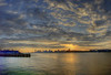 Pier 66 Sunset Panorama by -ytf-