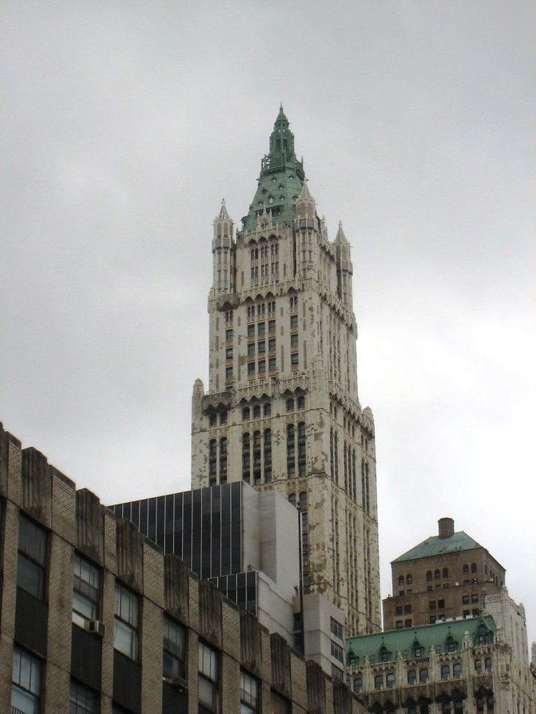 Woolworth Building - New York | Now that the Twin Towers are