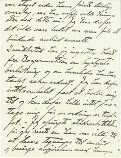 1918.06.27 - Brev fra billedhugger Wilhelm Rasmussen til grosserer Dyre Halse [side 2 av 3]