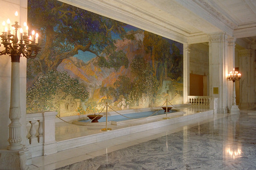 Dream Garden mosaic from left 1998 IMG0051   by rudisillart