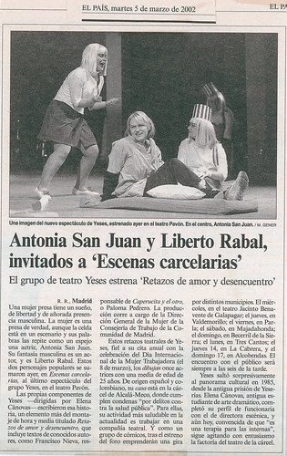 Compañía Teatro Yeses, dirigido por Elena Cánovas. | by lenicanovacas