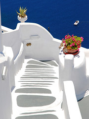Stairway in Oia, Santorini | by MarcelGermain