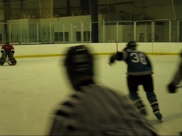 yep, that's me on the breakaway