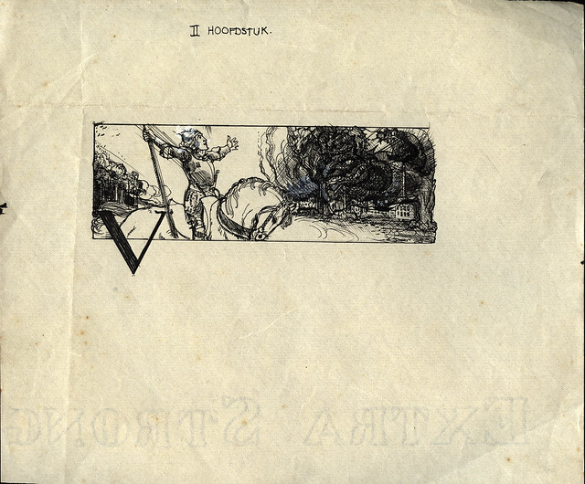 1925 unknown book  Chapter II - Hero facing down the demons of modern industry