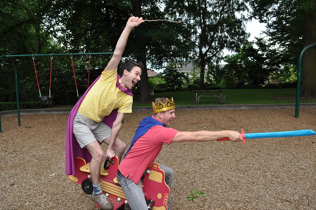 KING ARTHUR AND THE KNIGHTS OF THE PLAYGROUND