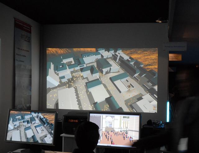 Simulation d'espaces urbains (Laval Virtual)