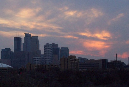 Dusk in Minneapolis