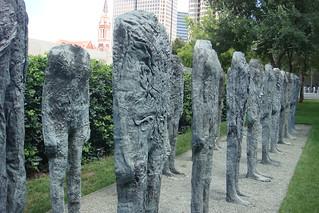 Magdalena Abakanowicz - Bronze Crowd | by kimncris