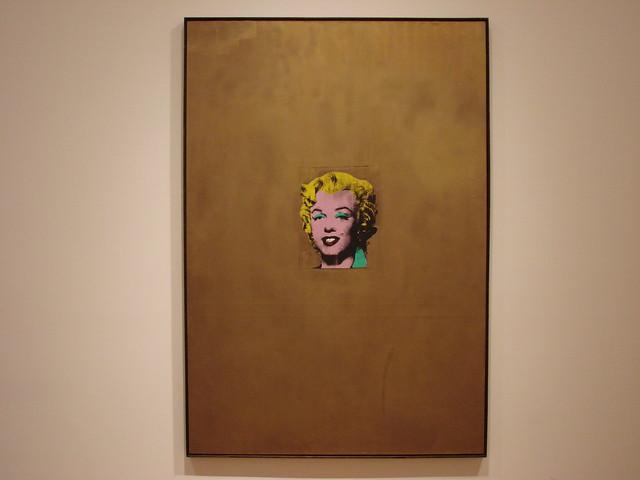 2008-05-10 New York 030 Museum of Modern Art, Andy Warhol, Gold Marilyn Monroe