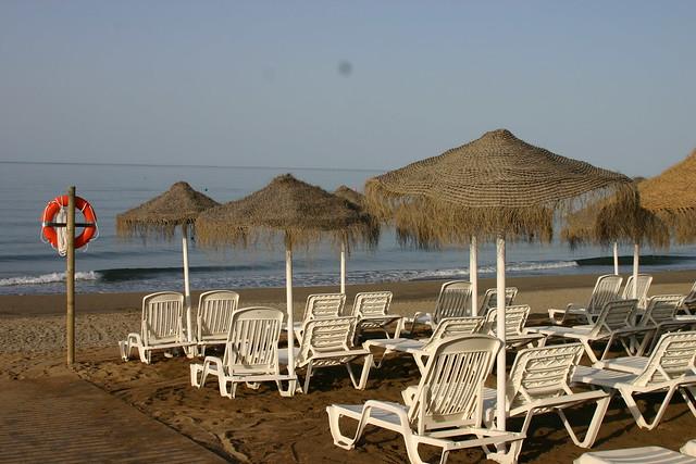 Strand, Mariott Beach Resort, Marbella