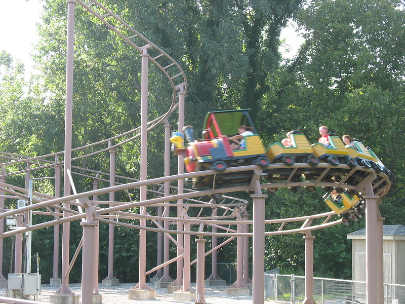 Woodstock Express at Cedar Point