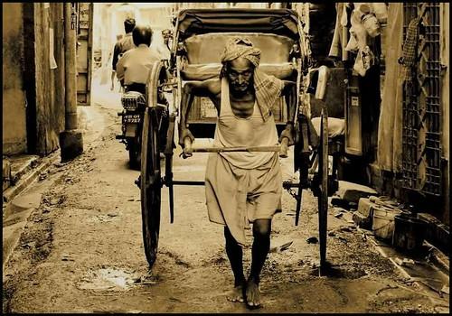 Story of the Rickshaw Puller | Kolkata by A y A n