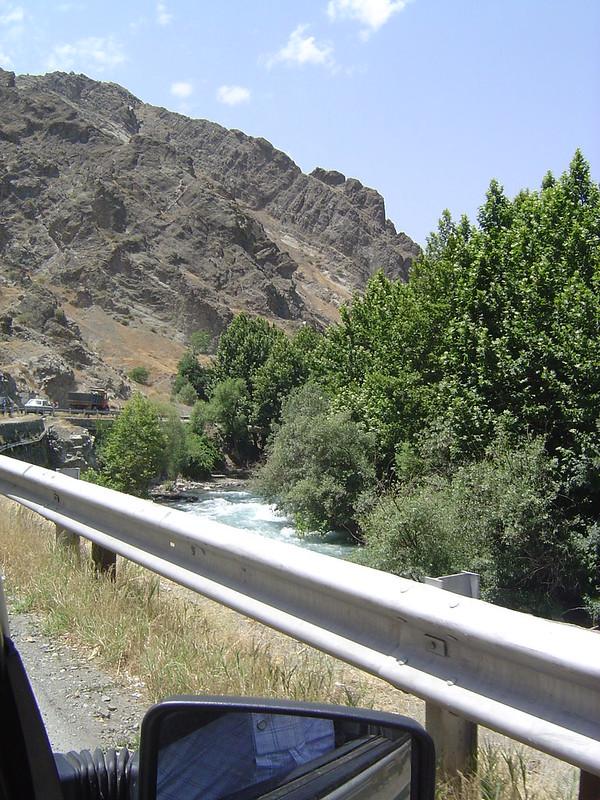 Iran - river near Karaj
