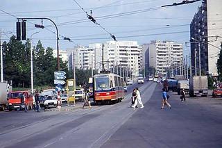 The now vanished  Braşov Tram, Romania, June 1994