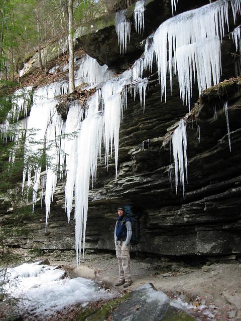 Icicles, Jason Collard, Virgin Falls State Natural Area, White Co, TN
