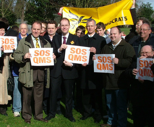 Brian Paddick at the save Queen Mary hospital march | by Liberal Democrats