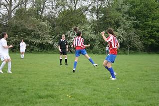 Lea Valley U13 Girls v Tottenham Hotspur U13 Girls   by Andy Wilkes