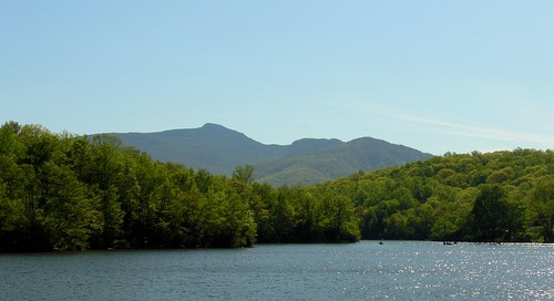 Grandfather Mountain behind Price Lake | by Wayfaring Wanderer