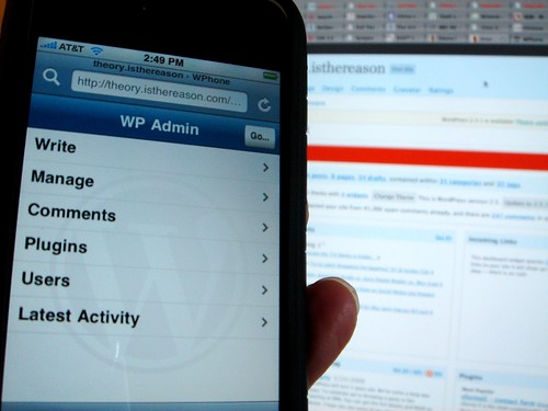theorycast.44 - How to iPhone-ize your WordPress blog - 1