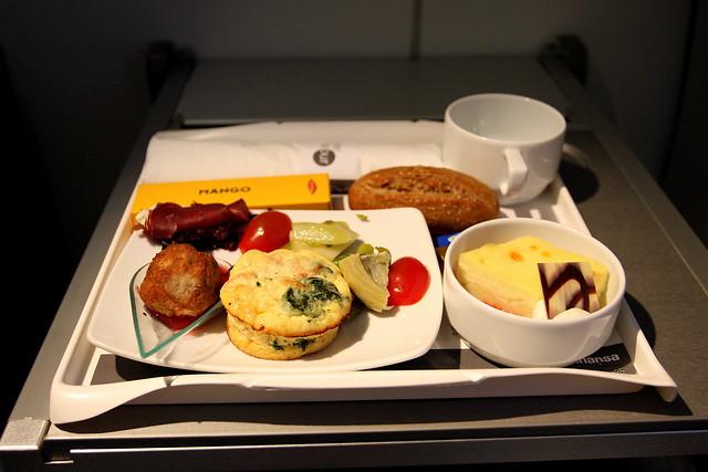 Dinner - Lufthansa Regional Business Class