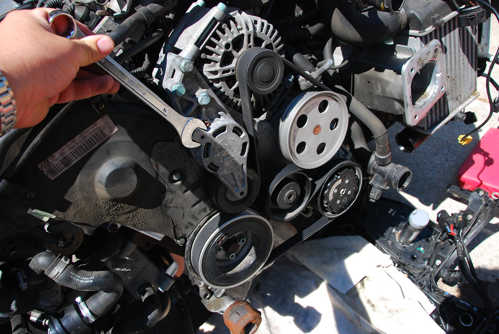 engine belt system