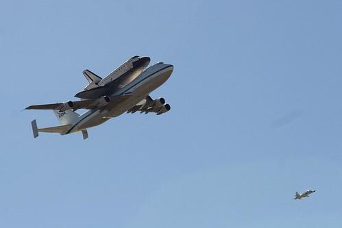 Space Shuttle Endeavour Flyover |Space Shuttle Flyover