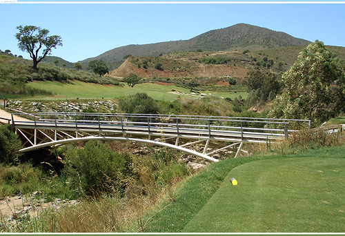 Tee shot over a bridge - La Cala Golf, Campo Europa | by drklops