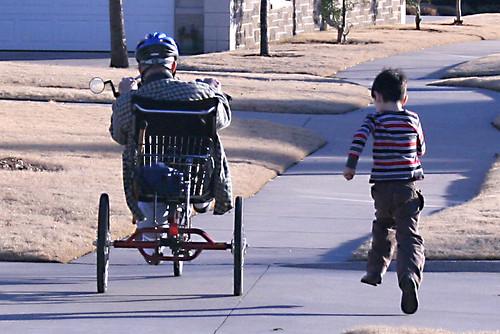 race with papa | by woodleywonderworks