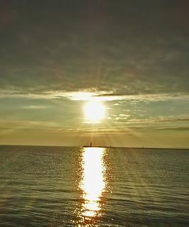 Venice in sunset