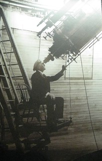 Percival Lowell observing Mars | by brewbooks