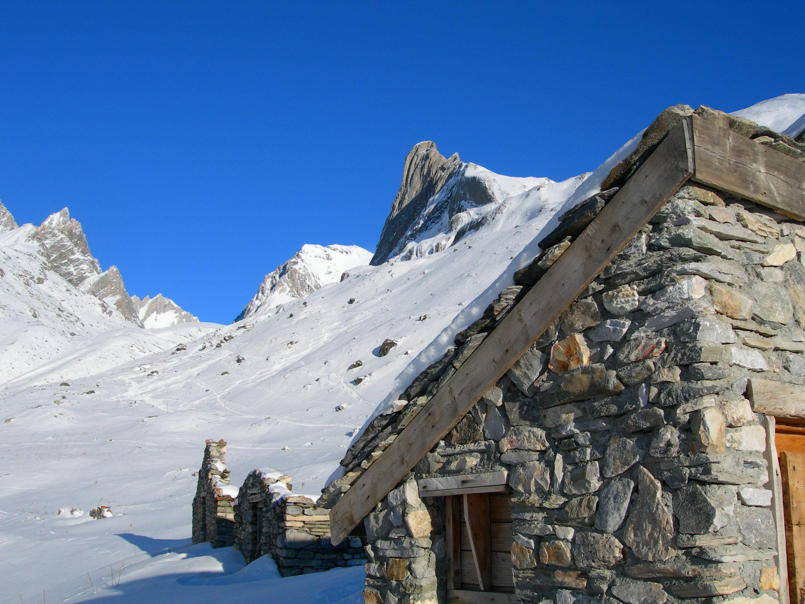 Pralognan-la-Vanoise, chalet d'alpage - D. Dereani, Fondation Facim