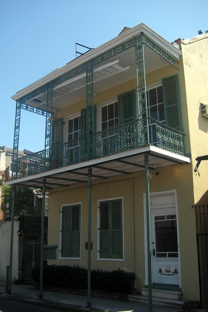 New Orleans - French Quarter: Tennessee Williams House