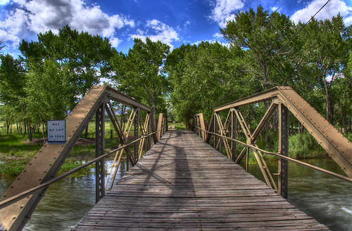 wood blue trees sky green water clouds landscape canal colorado steel deck pony span hdr delnorte bridging truss nationalregisterofhistoricplaces photomatix nrhp riograndecounty bridgepixing bridgepix 200806 sutherlandbridge 85000234