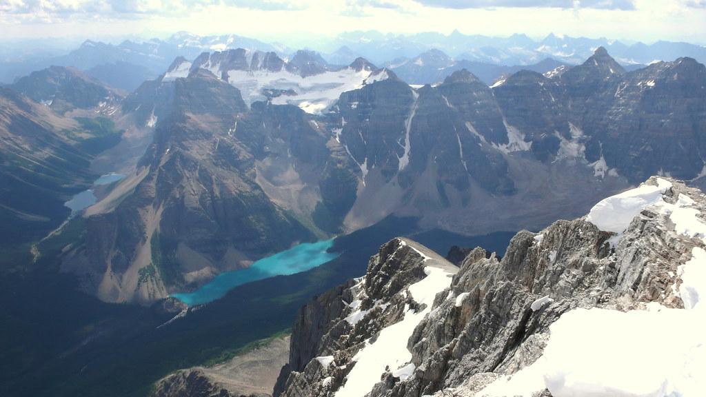 moraine lago y diez picos