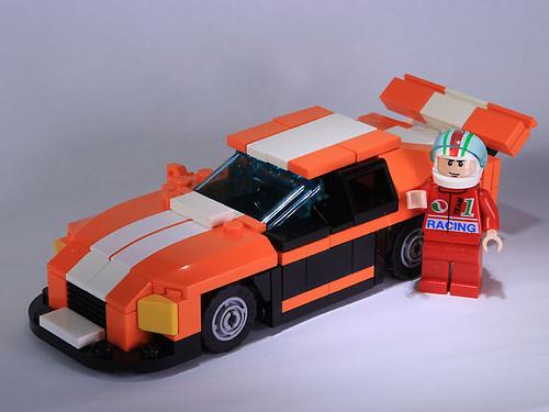 orange nascar