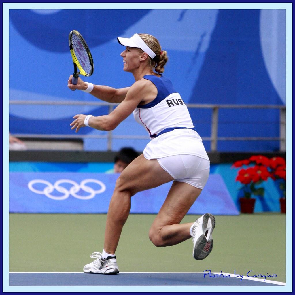 2008北京奥运会网球_奥运网球风采-德蒙蒂娃 | 2008年8月17日,北京奥运会女子网球单打 ...