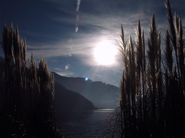 Sky of Melide Lake