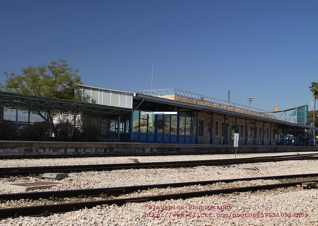 Lod, old railway station, Israel security experience