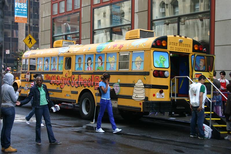 Scholastic Magic School Bus
