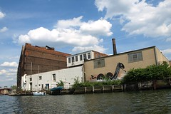 Greenpoint Manufacturing & Design Center, Newtown Creek NYC