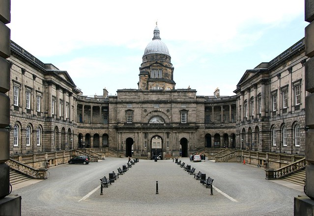 Edinburgh University Old College / Old Quad