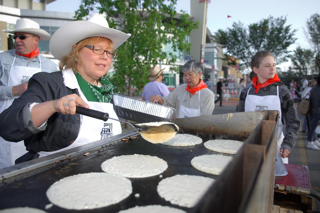 Elizabeth May Chinook Stampede Breakfast Elizabeth May
