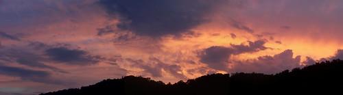 sunset sky tennessee