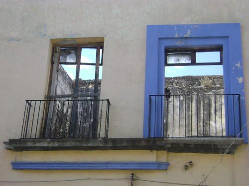 Una ventana de Puebla